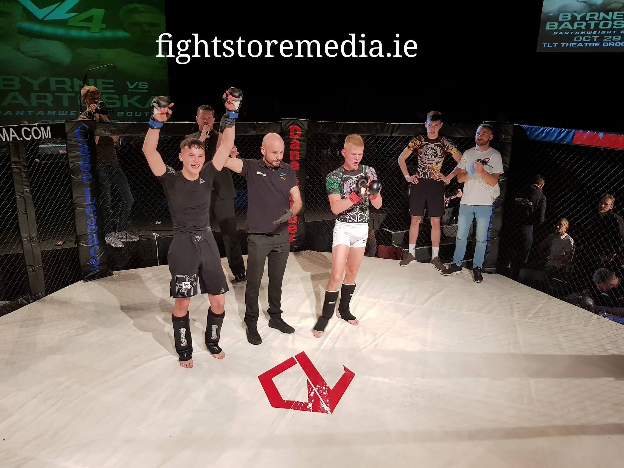 Mikey won his fight at Cage Legacy representing SBG Dublin24
