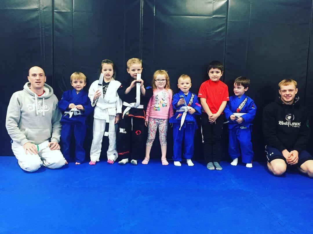 Kids martial arts grading at SBG Dublin24
