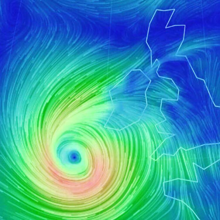 Storm Ophelia is causing extreme weather conditions. Due to this, classes will be postponed until the weather improves