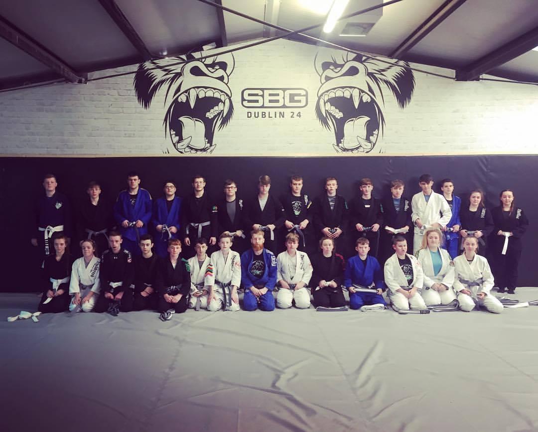 Teens martial arts grading at sbg dublin24