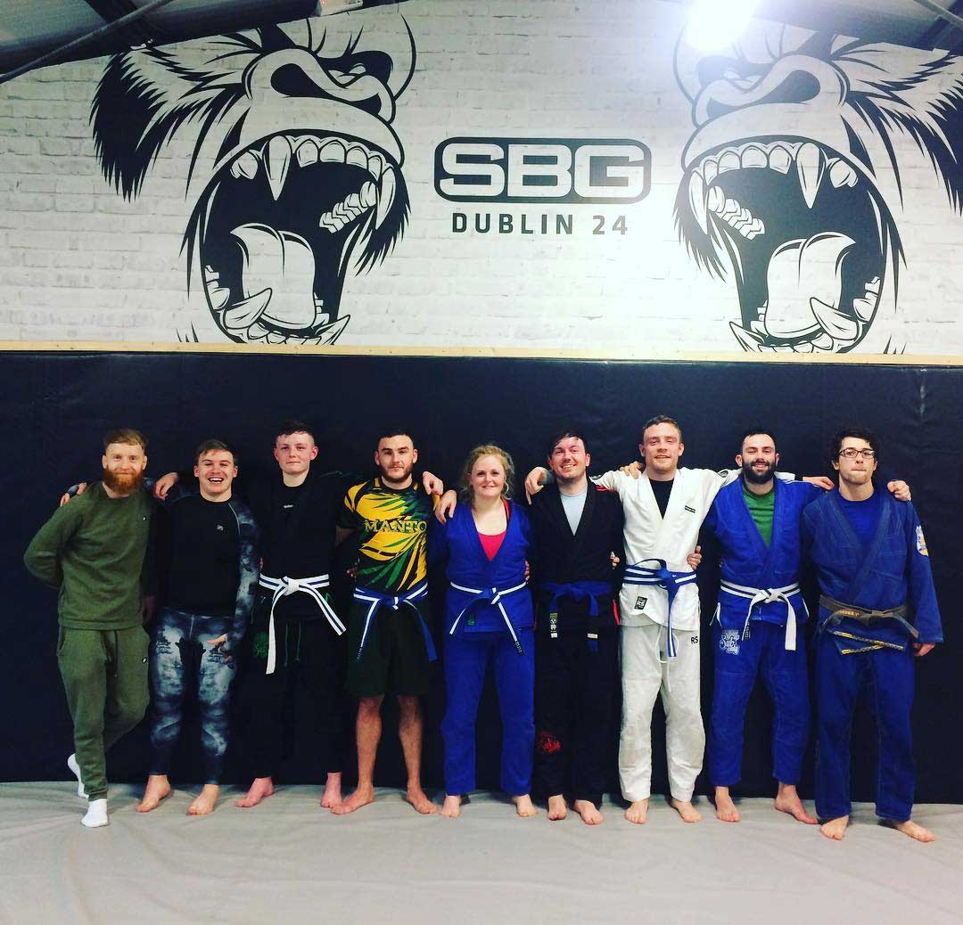 BJJ promotions in SBG Dublin24