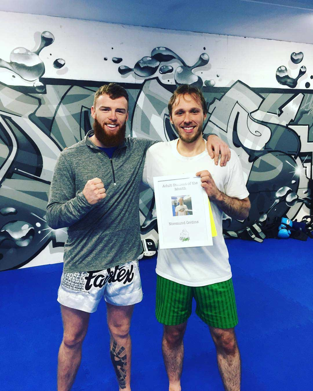 Normund is the sbg dublin24 student of the month