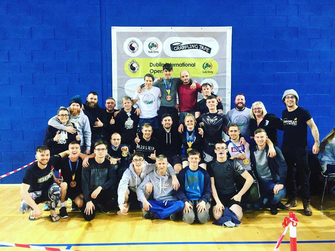 SBG Dublin24 at the Dublin International BJJ Open
