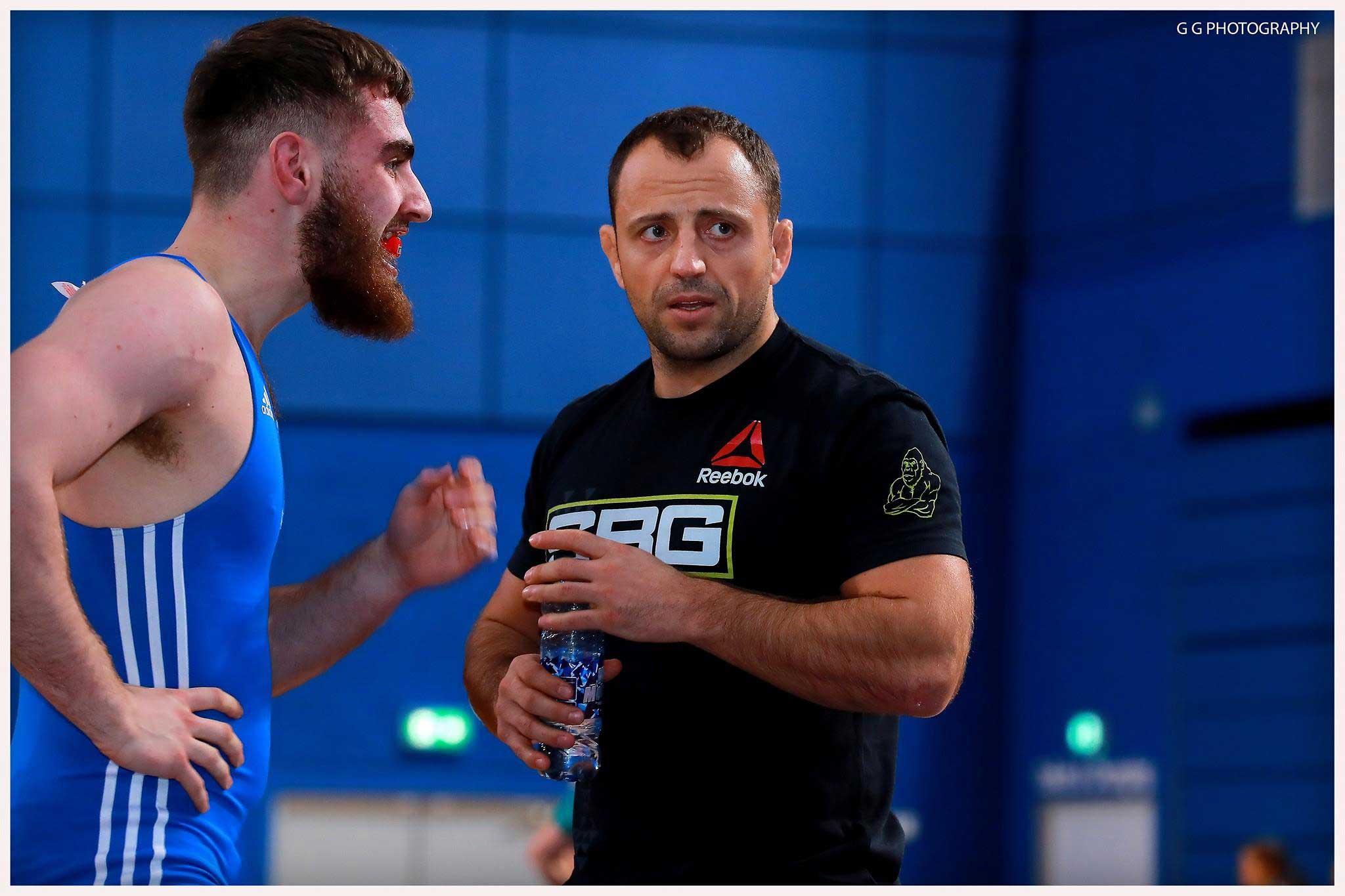 Guest coach Sergey Pikulskiy